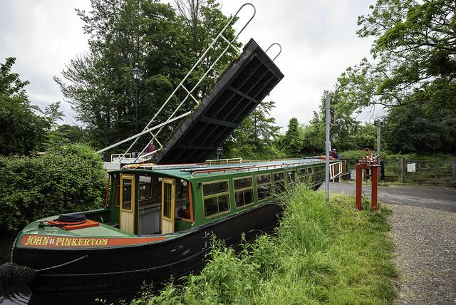 Basingstoke Canal lift bridge