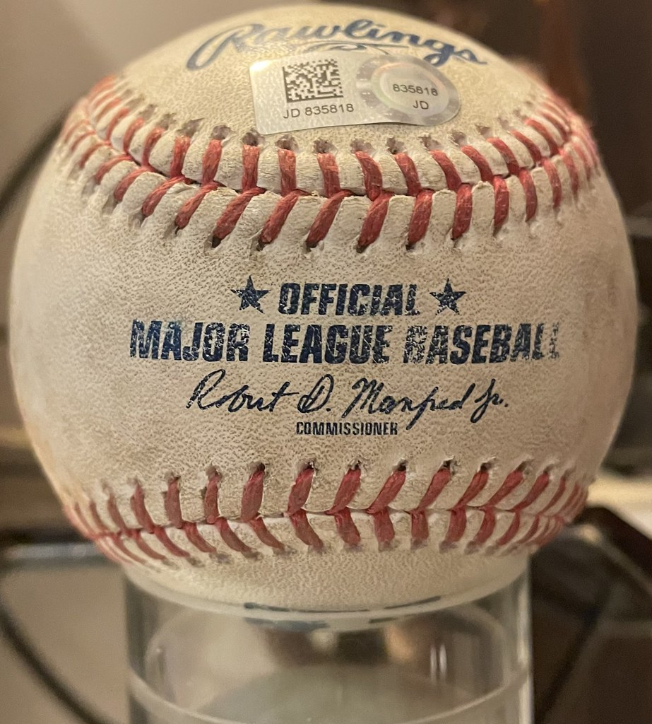 2020 Baltimore Orioles vs. Tampa Bay Rays 9/19/20. B5 Orioles batter Cedric Mullins from Rays pitcher Charlie Morton, P#1 S, P#2 B, P#3 single to RF (Brett Phillips). Mullins' 31st hit of season (77th hit of career). MLB Hologram/LOA JD835818.