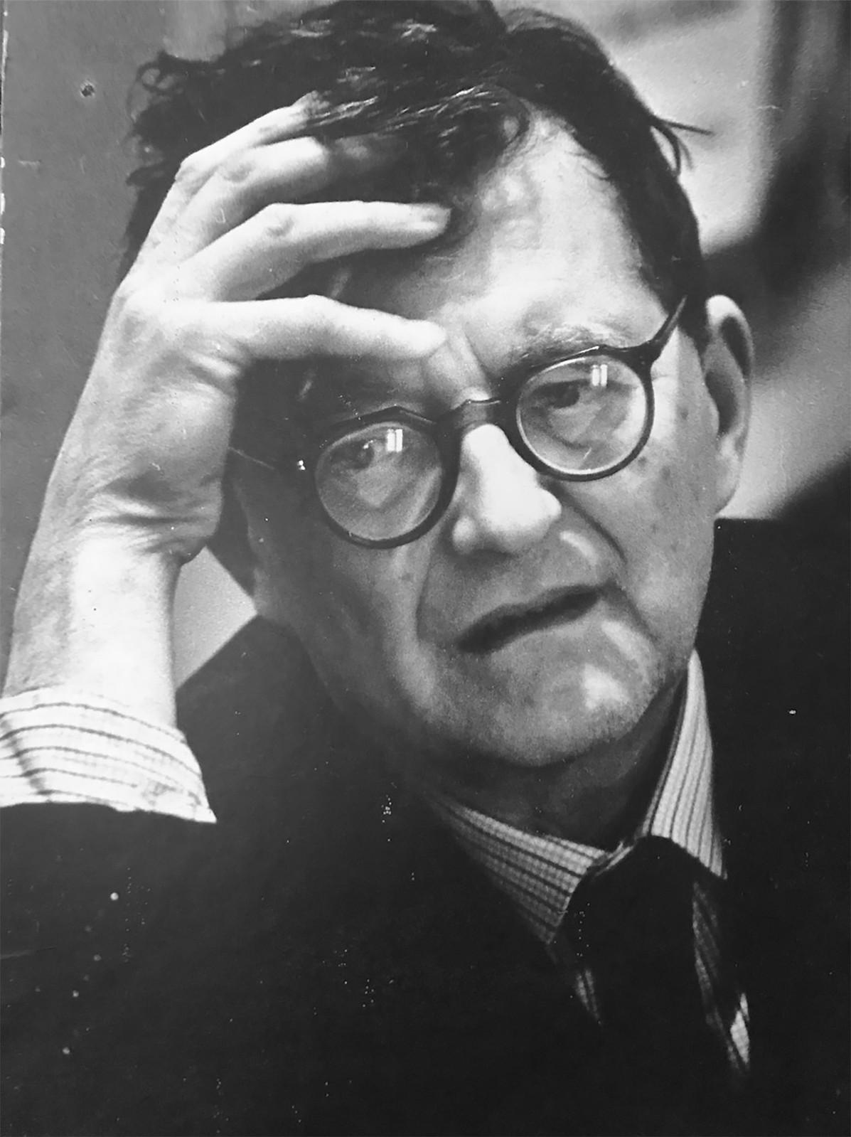 1962. Дмитрий Шостакович в день премьеры 13-й симфонии композитора