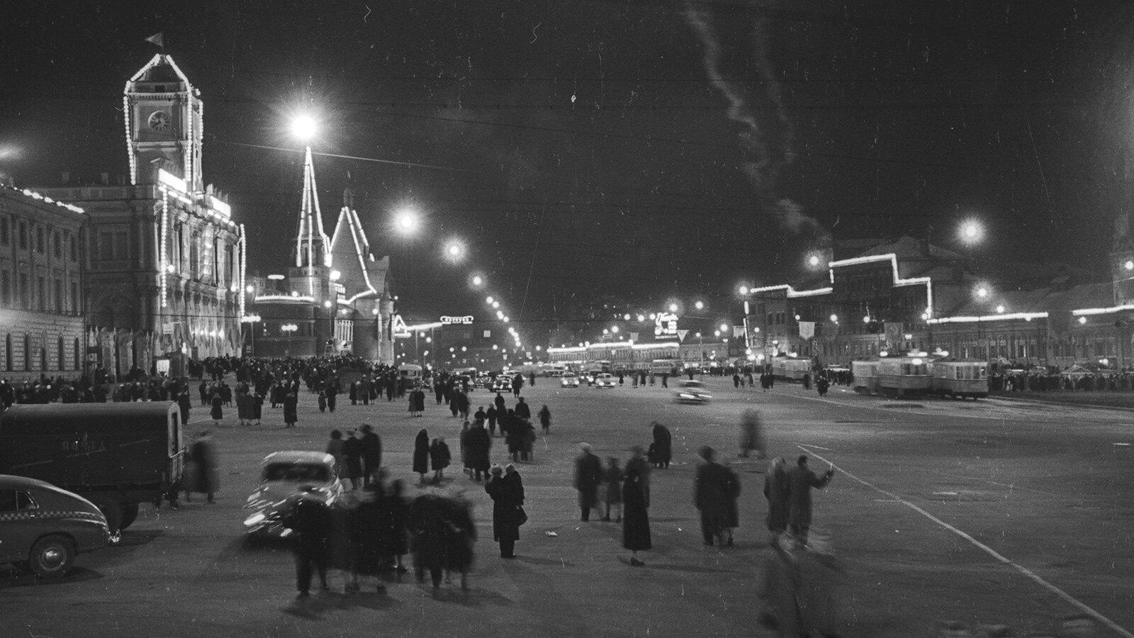 1960. Комсомольская площадь. Казанский вокзал