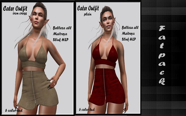 Mayhem Cater Outfit Fat Packi