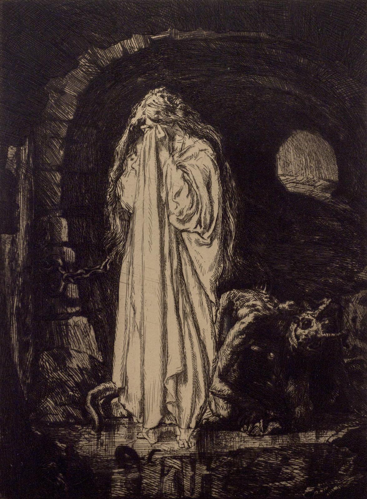 Marcel Roux - Satan's Slave, 1907