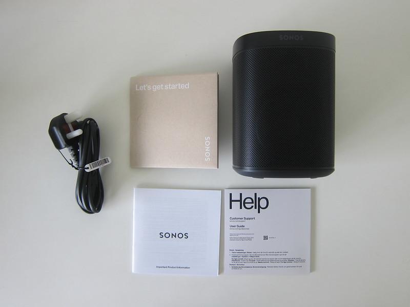 Sonos One SL - Box Contents