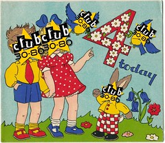 4th birthday party flyer