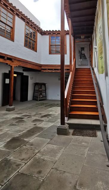 patio edificio interior Museo Néstor Álamo Santa María de Guía Gran Canaria 02