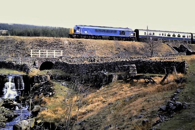 45150 on the Settle & Carlisle c.1984