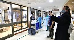Visita hospital clínico Punta Arenas