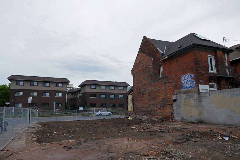 Demolished house King St. E. at Steven St. (3)