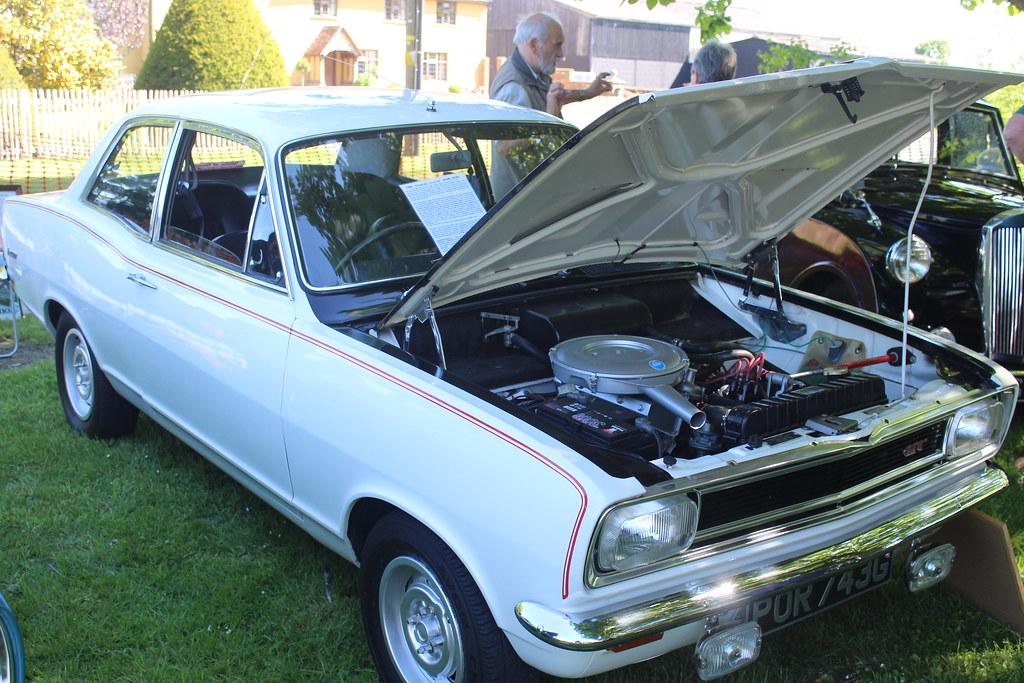 Vauxhall 1968 Viva GT POR 743G