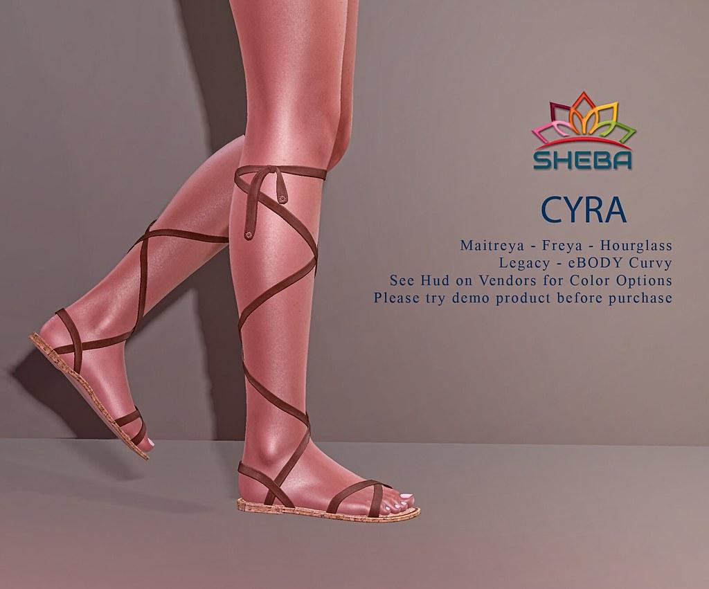 [Sheba] Cyra Sandals