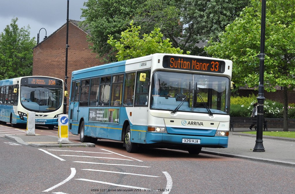 Arriva North West 2251 140619 St Helens*