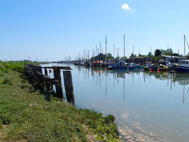 The old quay at Oare.