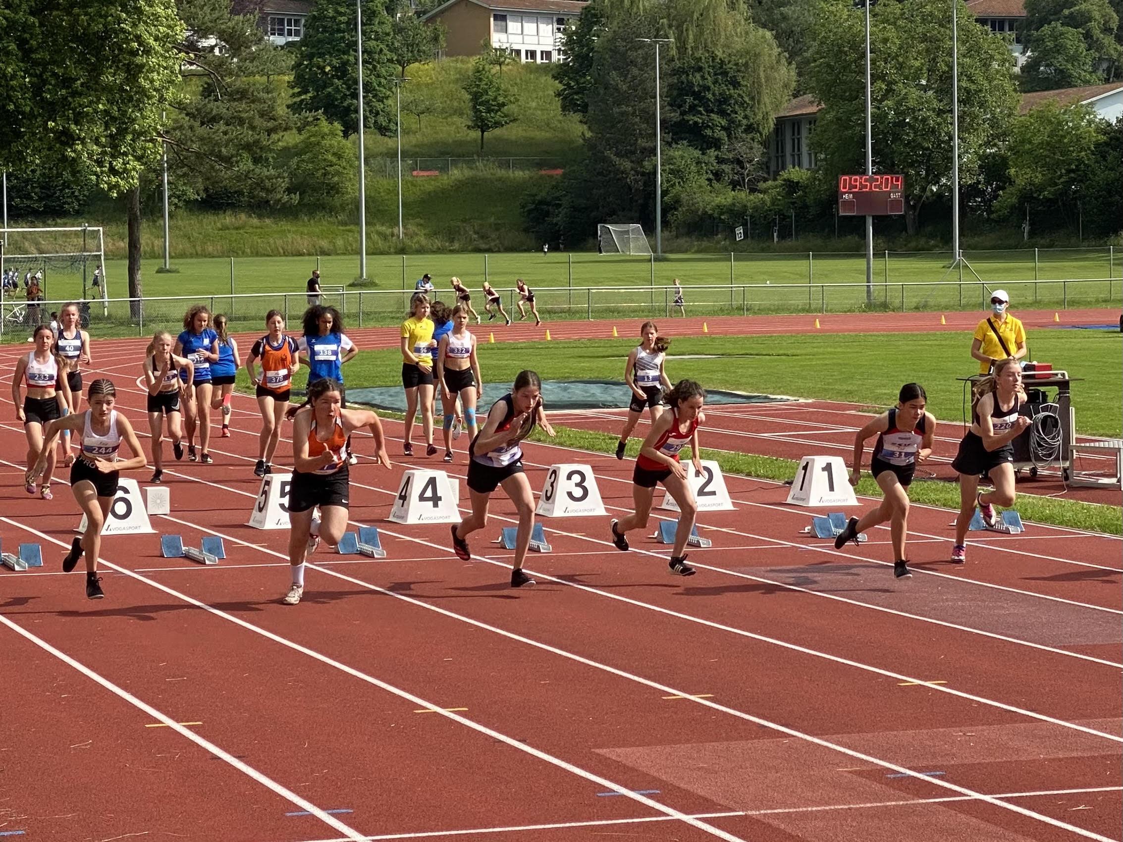 Erfolg an Innerschweizer Leichtathletikmeisterschaften