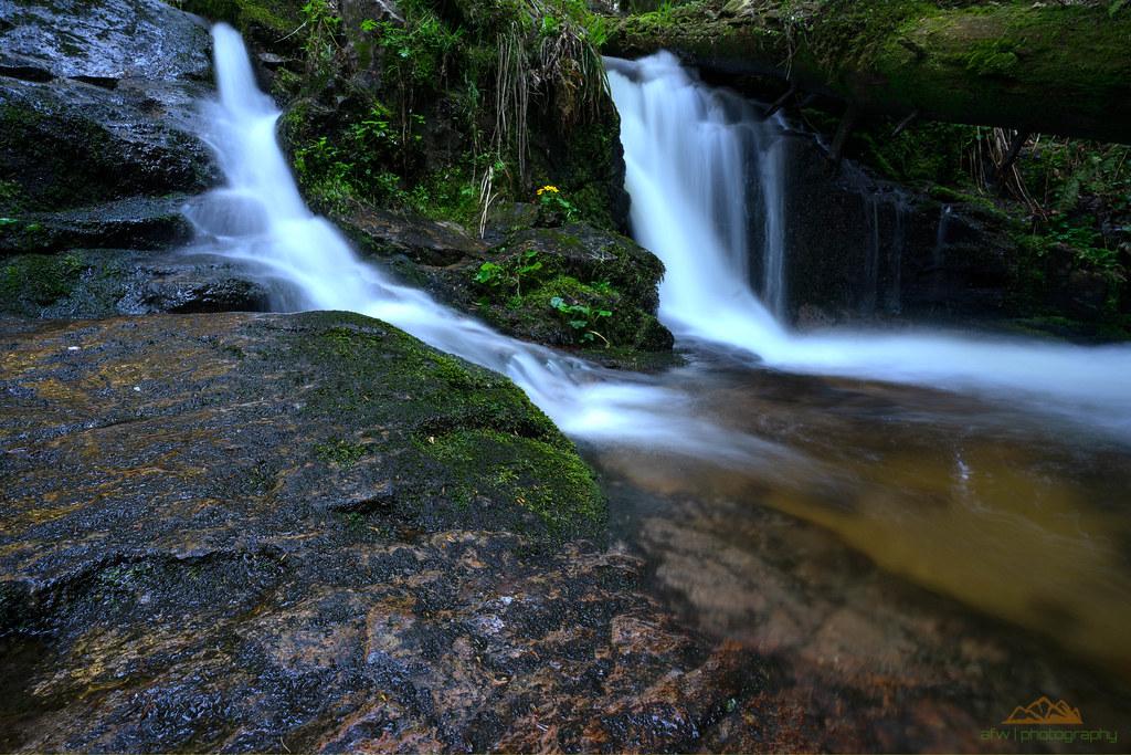 Kleiner Wasserall am Windbergbächle