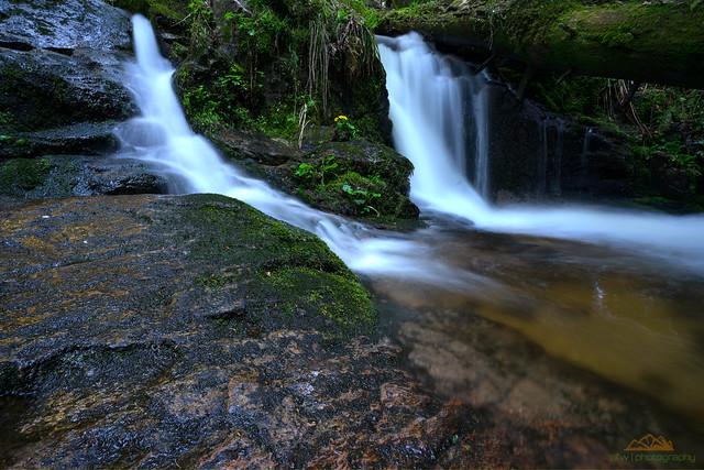 Kleiner Wasserall am Windbergbächle - explored