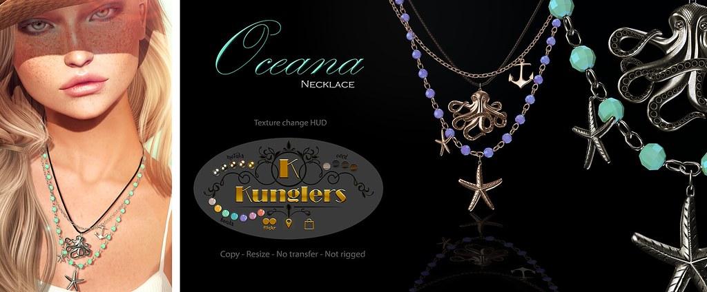 KUNGLERS – Oceana necklace