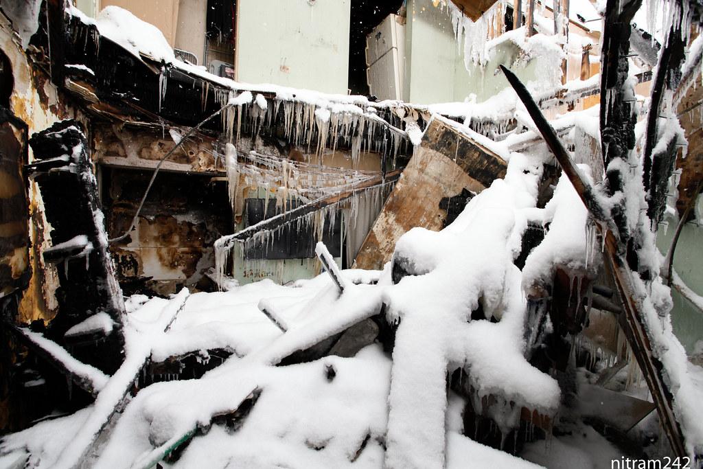 Cold Motel Room at Ohare Kitchenette Motel