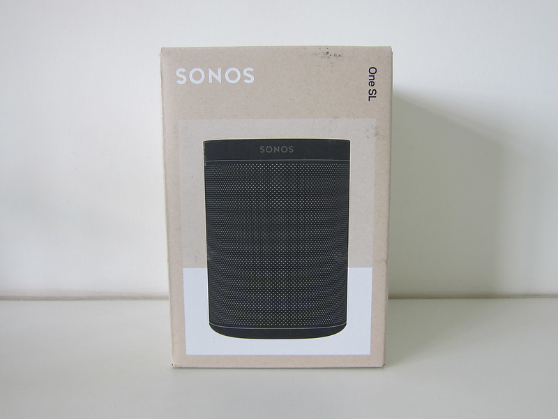 Sonos One SL - Box Front