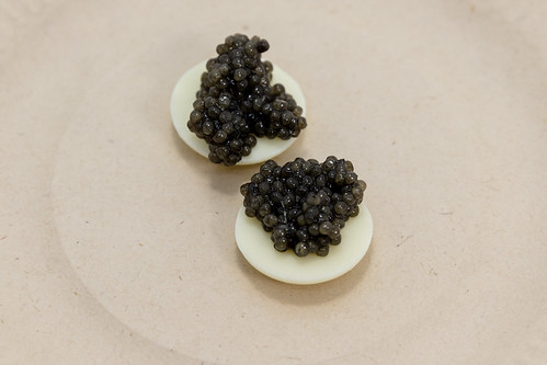 Caviar with White Chocolate (The Fat Duck)