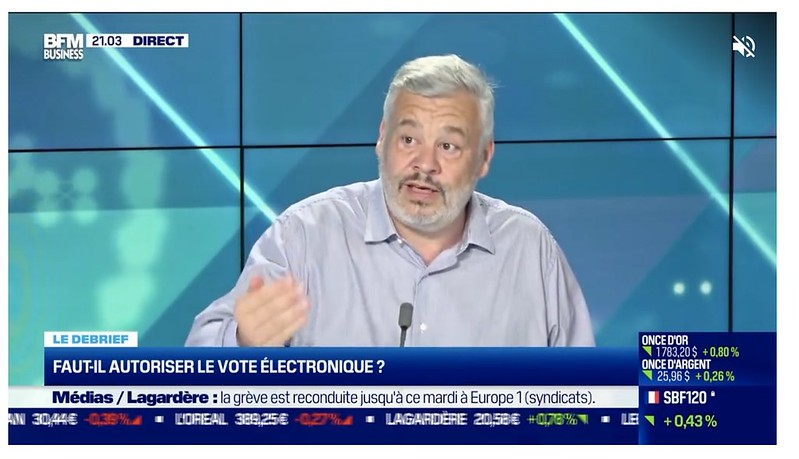 Tristan Nitot à la télévision