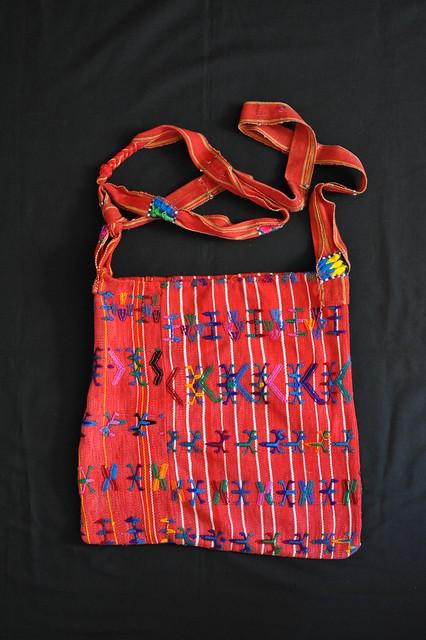 Bolsa Bag Purse Maya Textiles Guatemala