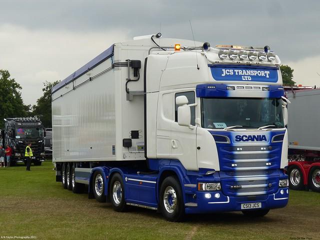 Scania R580 Streamline Topline V8 CS13 JCS 2013 JCS Transport Ltd Party On The Pitch 2021