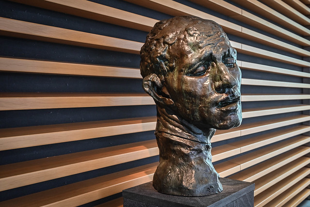 Head by Rodin