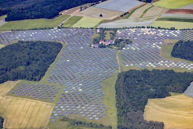 Solar Park At Gut Erlasee