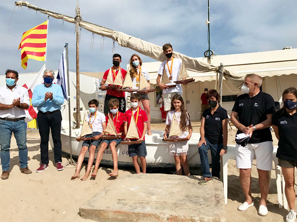 Campeonato de Cataluña de Patín a Vela junior en el Club Nàutic Sitges