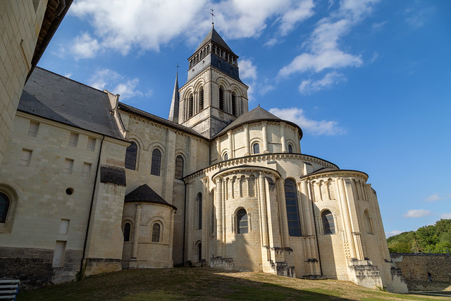 Fontevraud from the rear