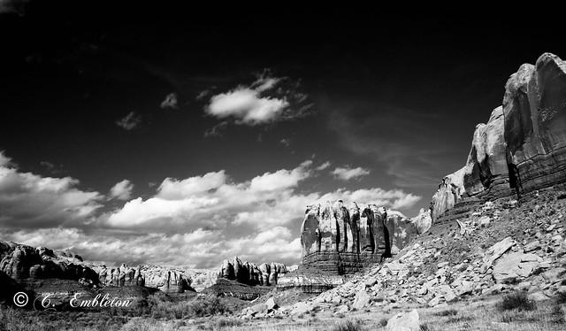 Side canyon Bluff, Utah.