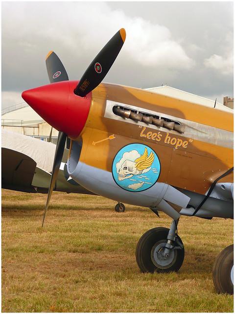 Curtiss P-40F Warhawk, G-CGZP  Lee's Hope