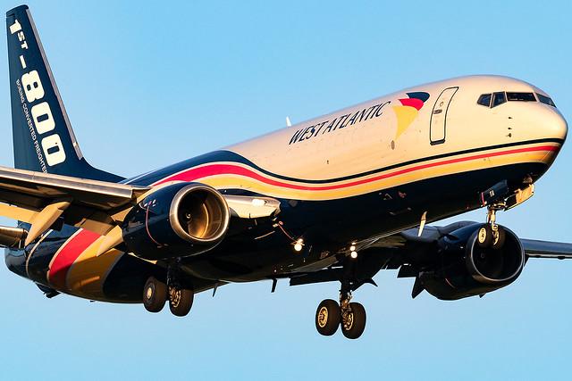 G-NPTA West Atlantic Airways B737-800 East Midlands Airport