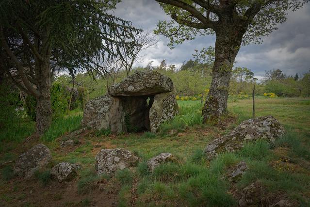 Dolmen de Chabot - Colombier le Jeune - Ardèche