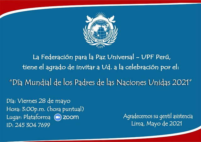 Peru-2021-05-28-UPF-Peru Celebrates UN Global Day of Parents
