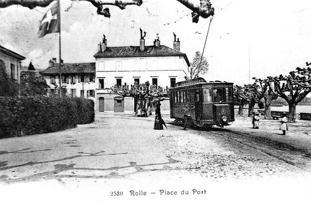 Trains du RG Rolle Gimel (Suisse)