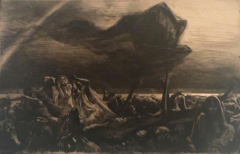 Marcel Roux - The Grim Reaper, 1907