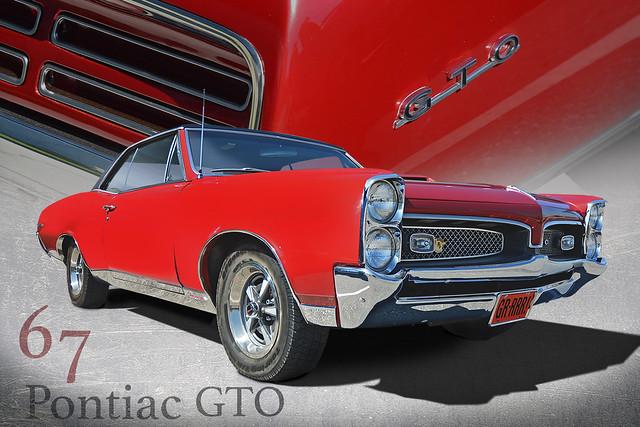 Get a Goat - 1967 Pontiac GTO