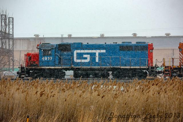 GTW GP38-2 #4910