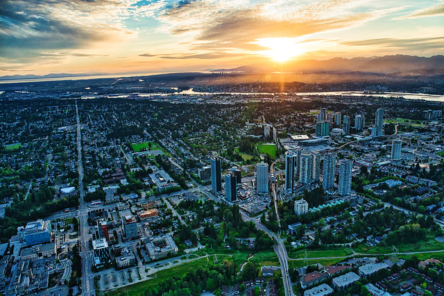 Surrey City Centre Aerial