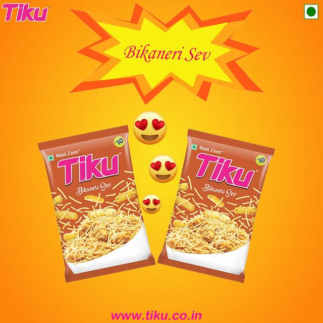 Healthy and Tasty Bikaneri Sev from Tiku
