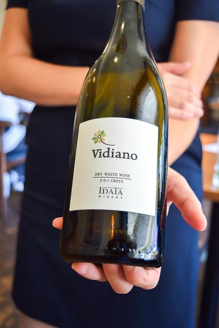 Creten Vidiano White Wine at Hide & Fox, Saltwood
