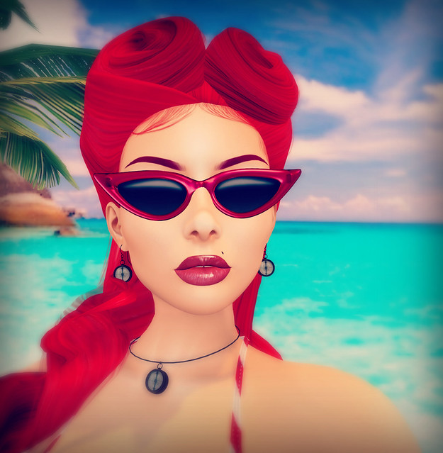 Helli Riddler - SL Syndicate - Sand Vixen - Closeup