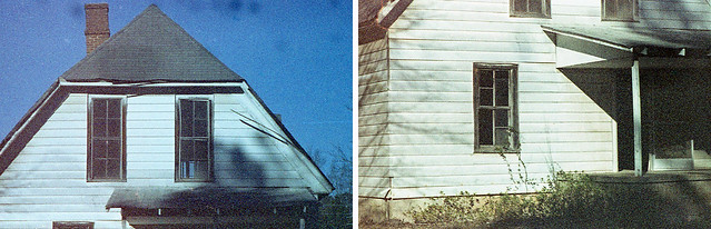 Abandoned - 110 Pentax Diptych