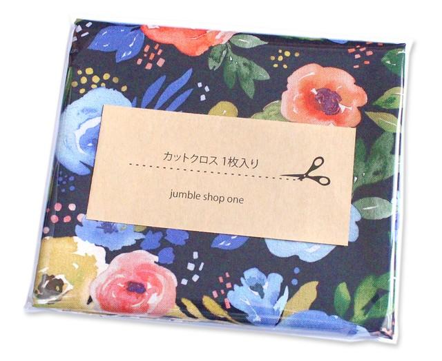 カットクロス Felicity Fabrics Nightfall Floral in Evening 610116