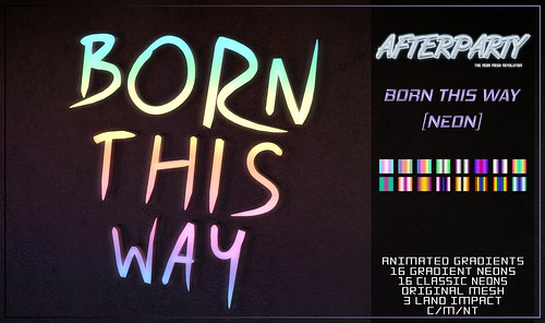 Afterparty - Born This Way [Pride Festival @ Afterparty]