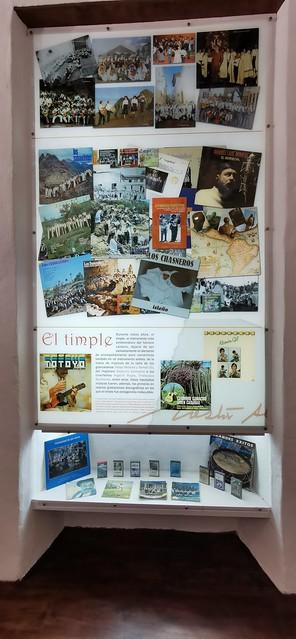 Nestor y artistas de la Musica interior Museo Néstor Álamo Santa María de Guía Gran Canaria 04