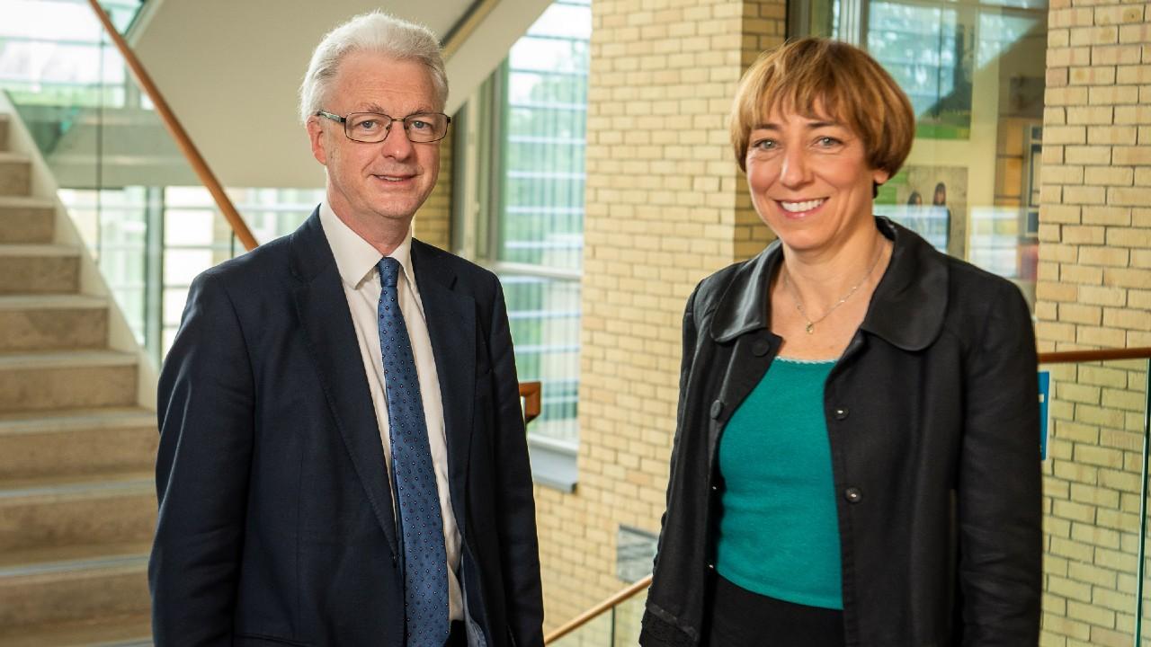 Professor Ian White and Professor Anna Gilmore
