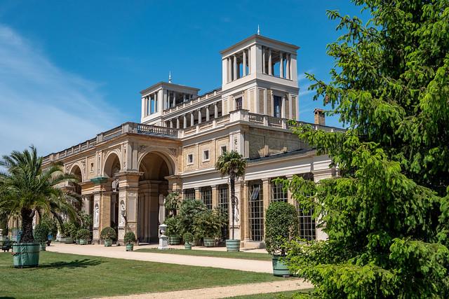 Potsdam, Park Sanssouci: Orangerieschloss - Orangery Palace