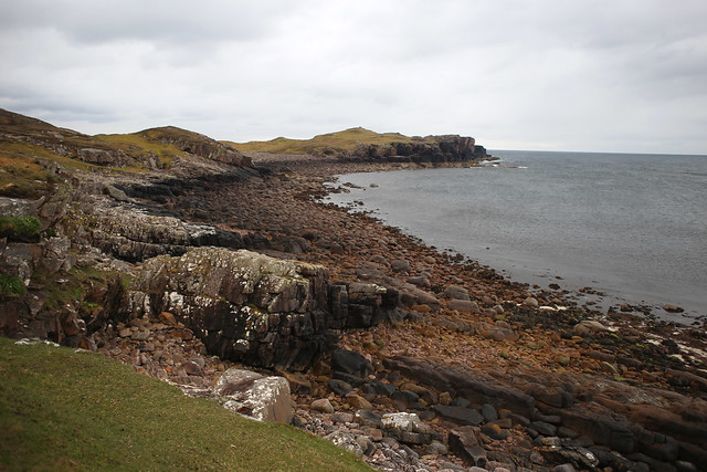 The coast north of Reiff
